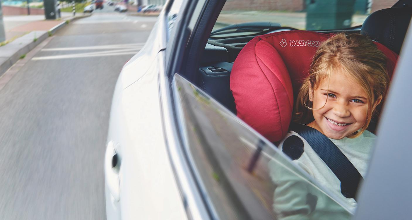 Sicher unterwegs: Autositze für Kinder
